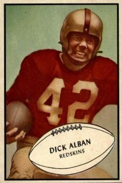 1953 Bowman #68 Dick Alban SP