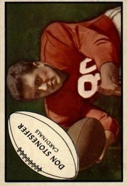 1953 Bowman #86 Don Stonesifer RC