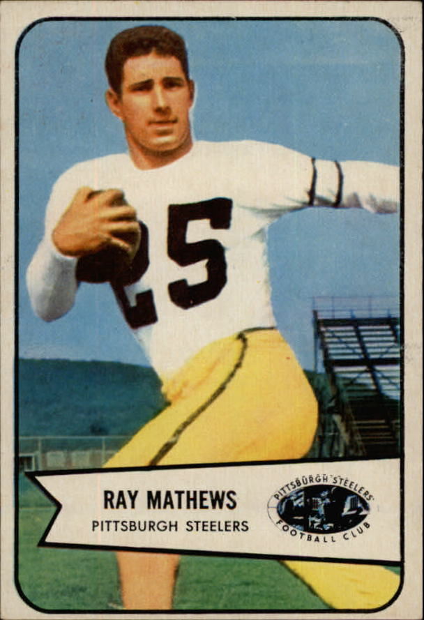1954 Bowman #1 Ray Mathews