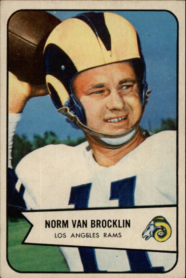 1954 Bowman #8 Norm Van Brocklin