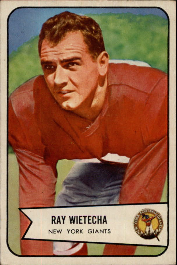 1954 Bowman #31 Ray Wietecha RC