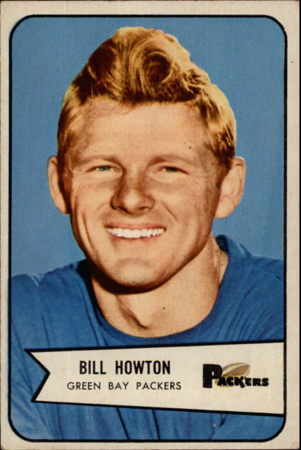 1954 Bowman #34 Billy Howton