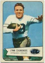 1954 Bowman #49A Lynn Chandnois ERR