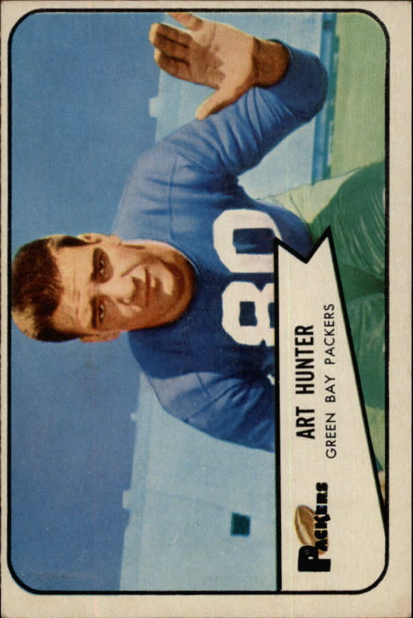 1954 Bowman #58 Art Hunter RC