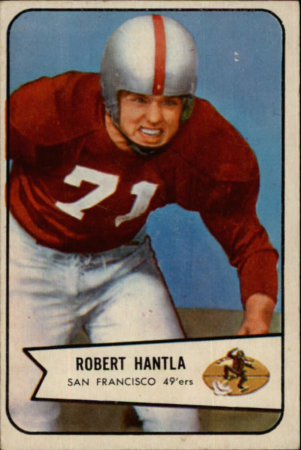 1954 Bowman #66 Bob Hantla SP RC