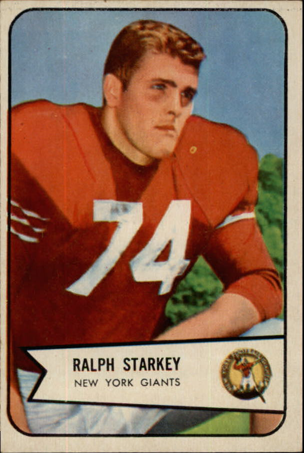 1954 Bowman #67 Ralph Starkey SP RC