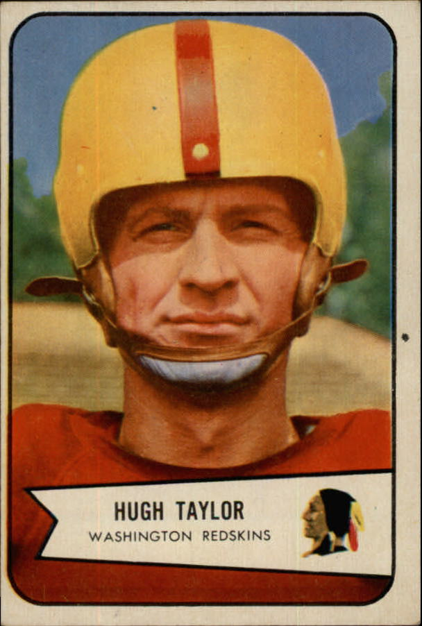 1954 Bowman #73 Hugh Taylor SP
