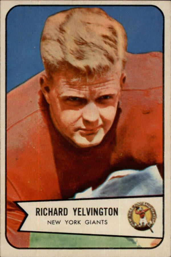1954 Bowman #77 Dick Yelvington SP RC