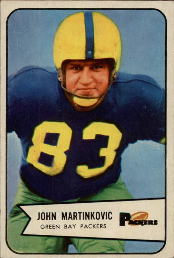 1954 Bowman #80 John Martinkovic SP RC