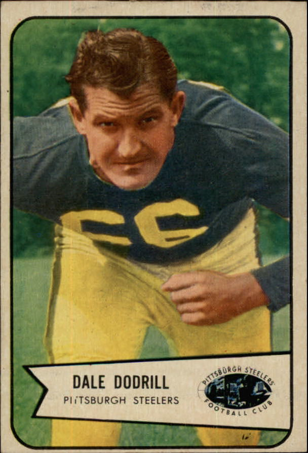 1954 Bowman #81 Dale Dodrill SP RC