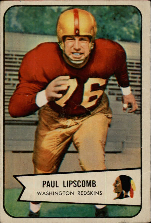 1954 Bowman #83 Paul Lipscomb SP