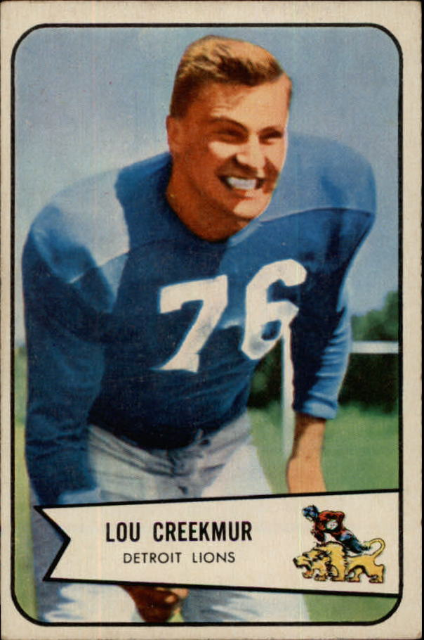 1954 Bowman #85 Lou Creekmur SP