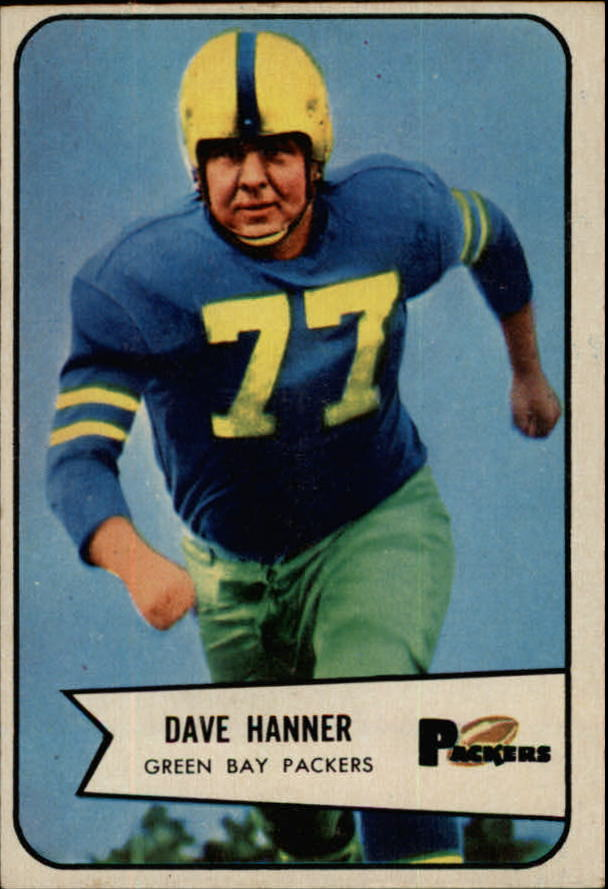 1954 Bowman #88 Dave Hanner SP RC