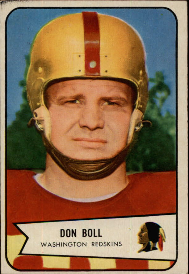 1954 Bowman #89 Don Boll SP RC