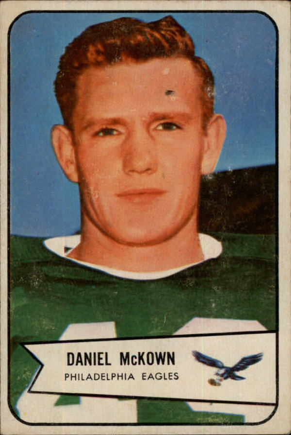 1954 Bowman #93 Dan McKown SP RC