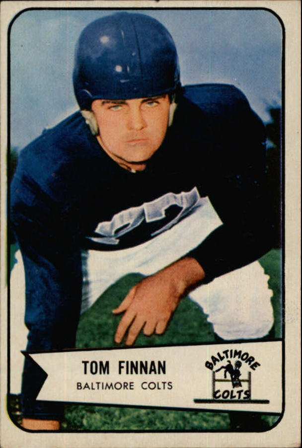 1954 Bowman #97B Tom Finnan COR RC