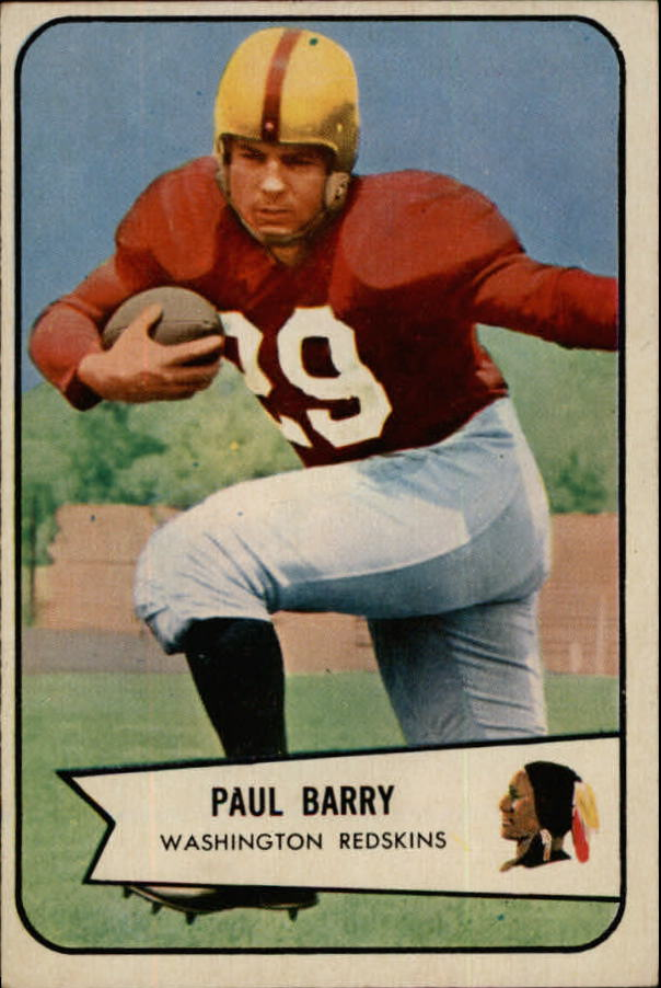 1954 Bowman #98 Paul Barry RC