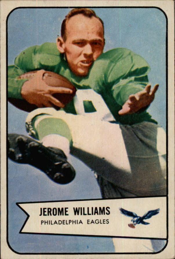 1954 Bowman #104 Jerry Williams