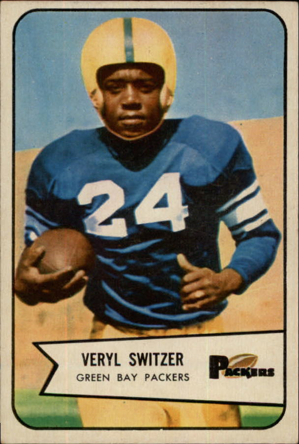 1954 Bowman #105 Veryl Switzer RC