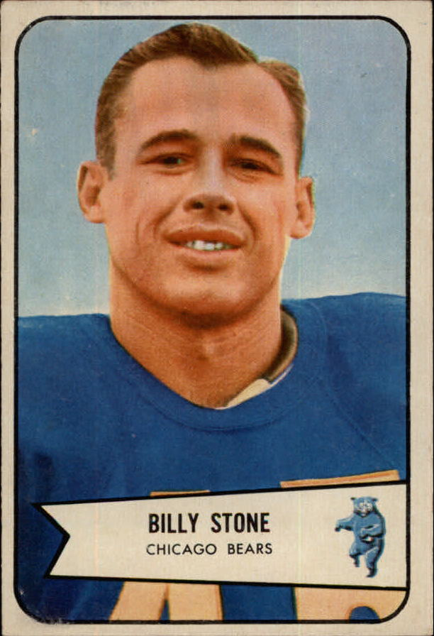 1954 Bowman #106 Billy Stone front image