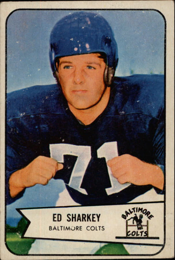 1954 Bowman #109 Ed Sharkey RC
