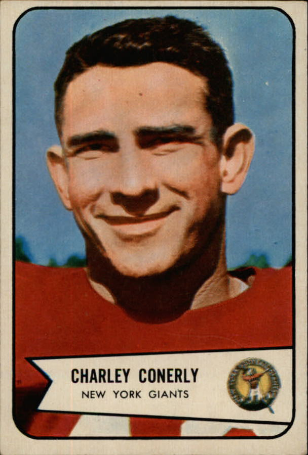 1954 Bowman #113 Charley Conerly