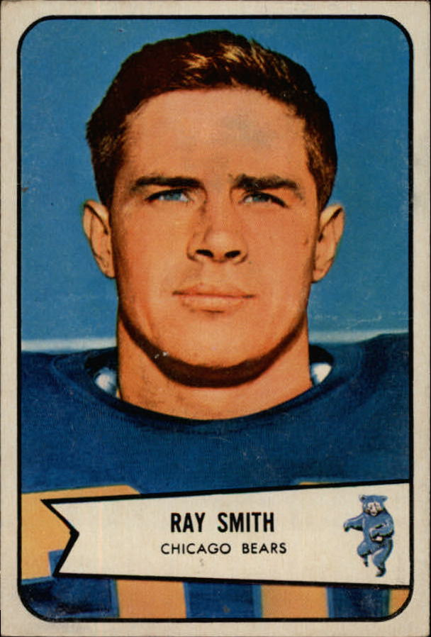 1954 Bowman #119 Ray Smith RC front image