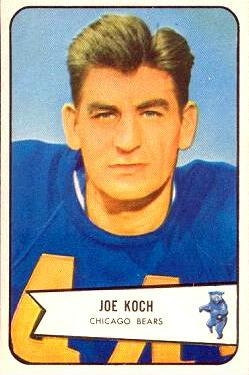 1954 Bowman #127 Joe Koch RC