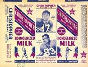 1955 49ers Christopher Dairy #3 Dick Moegle