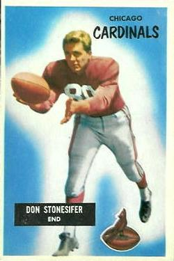 1955 Bowman #9 Don Stonesifer front image