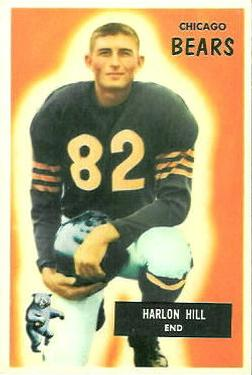 1955 Bowman #33 Harlon Hill RC