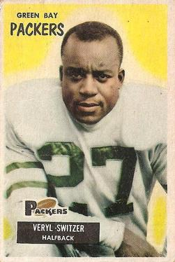 1955 Bowman #35 Veryl Switzer