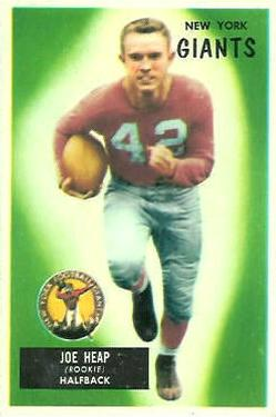 1955 Bowman #55 Joe Heap RC front image