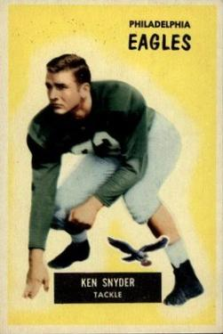 1955 Bowman #63 Kenneth Snyder