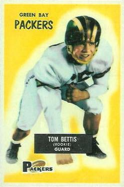 1955 Bowman #90 Tom Bettis RC