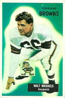1955 Bowman #146 Walt Michaels