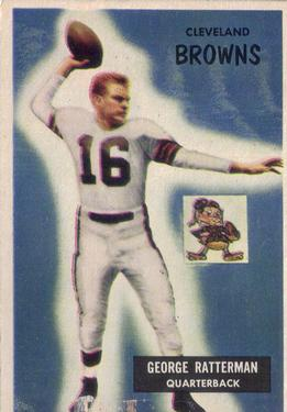 1955 Bowman #150 George Ratterman