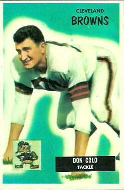 1955 Bowman #159 Don Colo RC