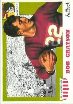 1955 Topps All American #5 Bobby Grayson RC