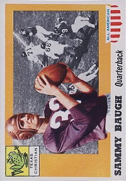 1955 Topps All American #20 Sammy Baugh
