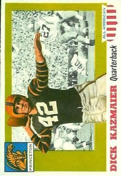 1955 Topps All American #23 Dick Kazmaier RC