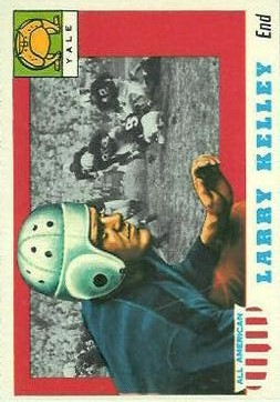 1955 Topps All American #26 Larry Kelley SP RC