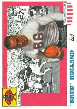 1955 Topps All American #39 Jerome Holland RC