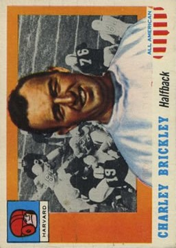1955 Topps All American #61 Charles Brickley SP RC