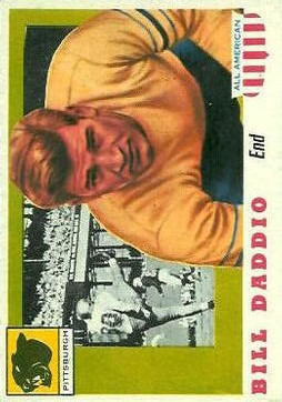 1955 Topps All American #70 Bill Daddio RC