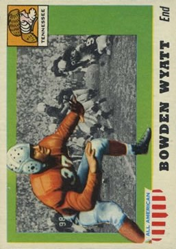 1955 Topps All American #77 Bowden Wyatt SP RC