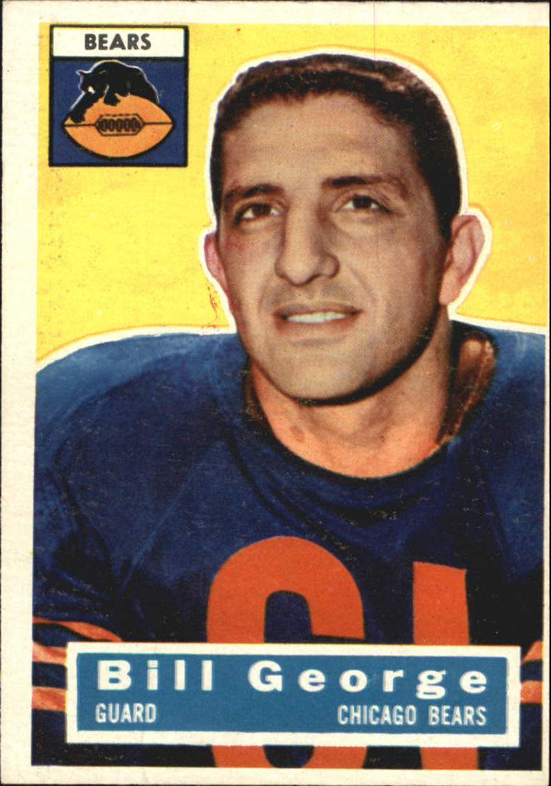 1956 Topps #47 Bill George RC