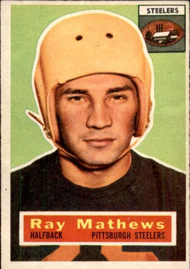1956 Topps #75 Ray Mathews front image