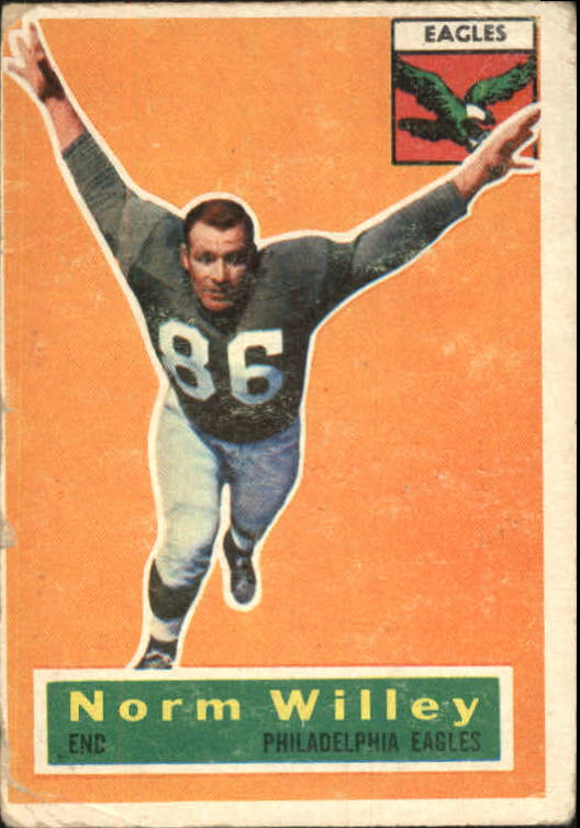 1956 Topps #88 Norm Willey