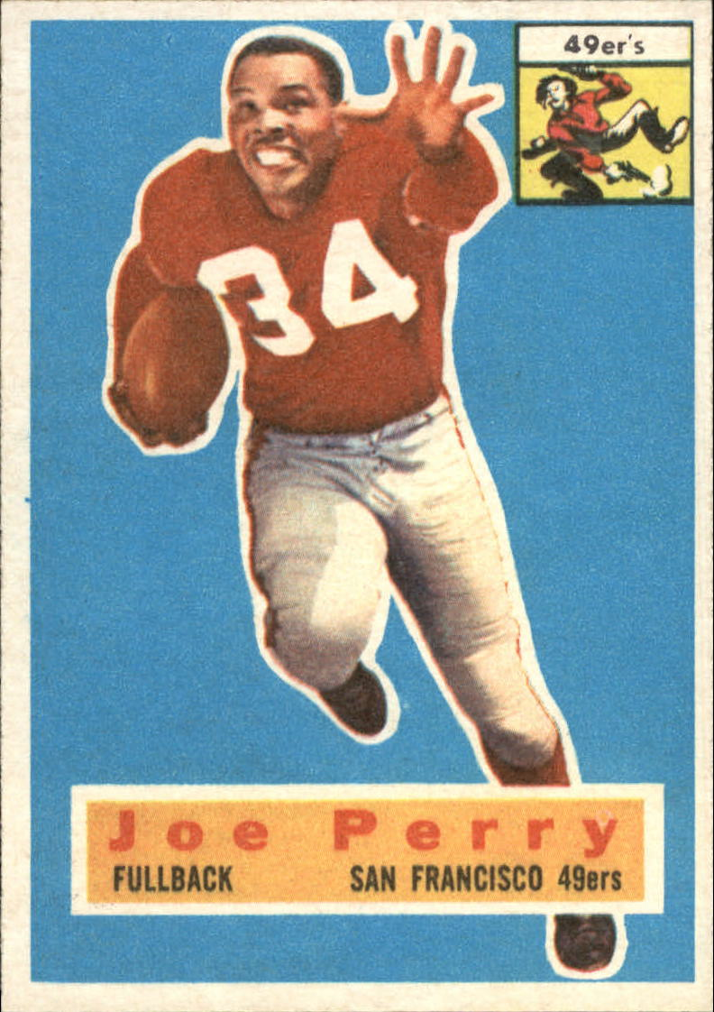 1956 Topps #110 Joe Perry